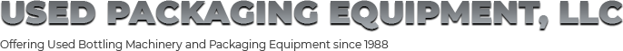 Used Packaging Equipment LLC. Logo